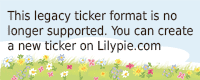 Lilypie 3° comp Ticker
