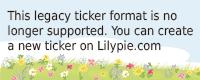 Lilypie 3ème anniversaire Ticker